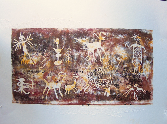 Petroglyphs from China Lake