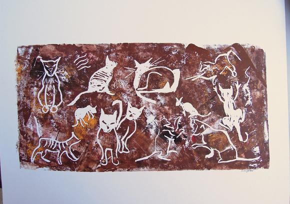 Catroglyphs from Broken China Lake